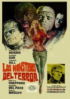 <i>Los Monstruos del Terror</i> 1969 film by Hugo Fregonese, Tulio Demicheli