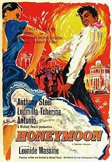 <i>Honeymoon</i> (1959 film) 1959 film by Michael Powell