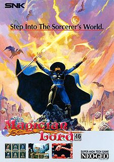 <i>Magician Lord</i> 1990 video game