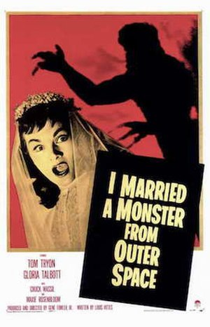 I Married a Monster from Outer Space - Theatrical release poster