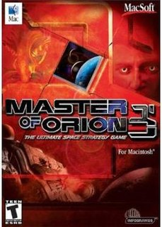 <i>Master of Orion III</i> 2003 video game