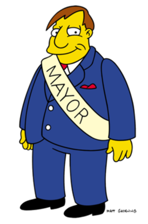 Mayor Quimby - Image: Mayor Quimby