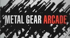 Metal Gear Online - Metal Gear Arcade logo