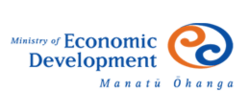 Ministry of Economic Development (New Zealand) logo.png