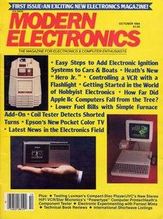 <i>Modern Electronics</i> American magazine