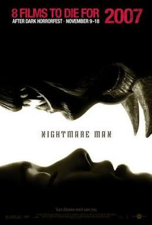 Nightmare Man (2006 film) - Poster for Nightmare Man