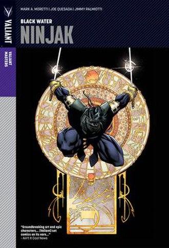 Ninjak - Image: Ninjak Masters Cover