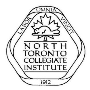 North Toronto Collegiate Institute - Image: North.Toronto.Crest