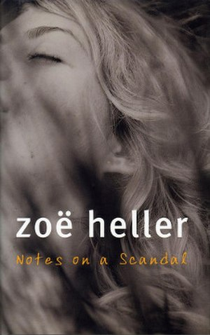 Notes on a Scandal - First edition UK cover