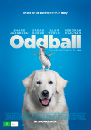 Oddball (film) - Theatrical film poster