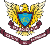 Official Marcellin College Bulleen Crest.png