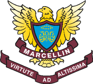 Marcellin College, Bulleen - Image: Official Marcellin College Bulleen Crest
