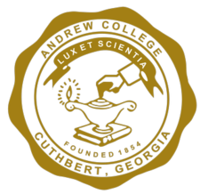 Official Seal of Andrew College, May 2014.png