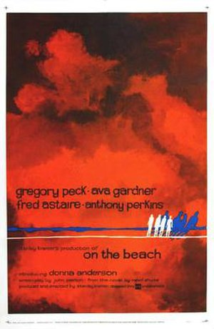 On the Beach (1959 film) - Theatrical release poster by Nicola Simbari
