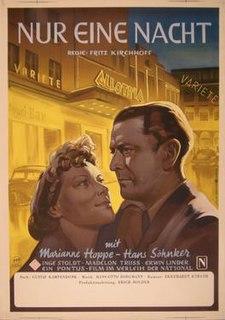 <i>Only One Night</i> 1950 film by Fritz Kirchhoff