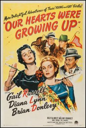 Our Hearts Were Growing Up - Theatrical release poster