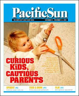 <i>Pacific Sun</i> (newspaper) newspaper in San Rafael, California