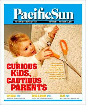 Pacific Sun (newspaper) - Image: Pacific Sun front page