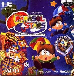 Parasol Stars - Image: Parasolstars box