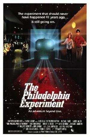 The Philadelphia Experiment (film) - Theatrical release poster