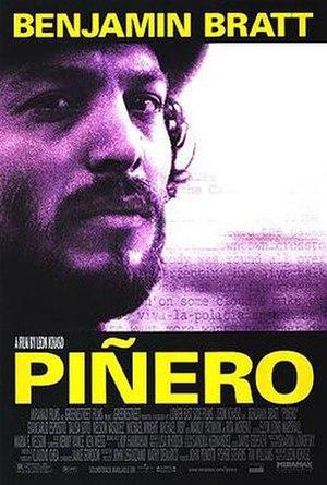 Piñero - Promotional poster