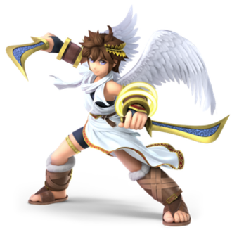Pit (Kid Icarus) - Pit as seen in Super Smash Bros. Ultimate.