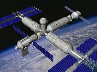 Proposed Russian space station