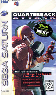 <i>Quarterback Attack with Mike Ditka</i> 1995 video game