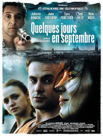 A Few Days in September - Theatrical poster