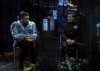 Marooned (<i>Red Dwarf</i>) 2nd episode of the third season of Red Dwarf