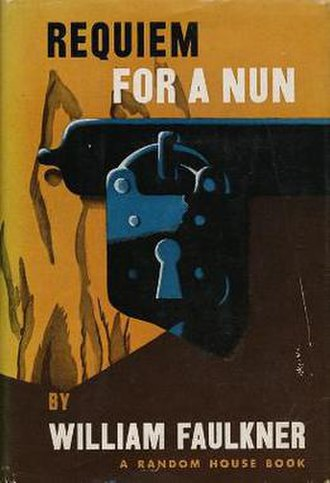 Requiem for a Nun - First edition
