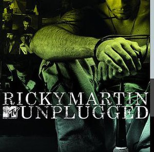 MTV Unplugged (Ricky Martin album) - Image: Ricky Martin MTV Unplugged
