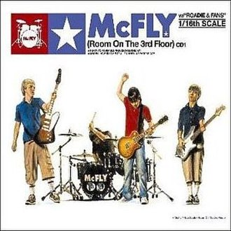 Room on the 3rd Floor (song) - Image: Room on the 3rd Floor (Mc Fly single cover art)