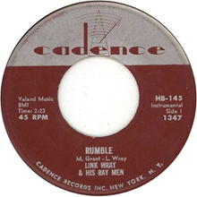 Rumble (instrumental) - Wikipedia