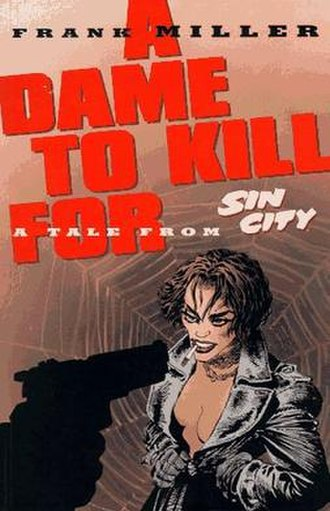 A Dame to Kill For - Cover for A Dame to Kill For