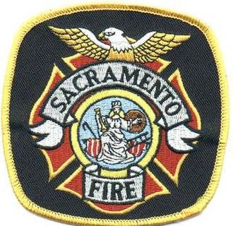 Sacramento Fire Department - Image: Sacramento Fire Department Logo
