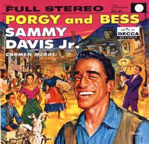 Porgy and Bess (Sammy Davis Jr. and Carmen McRae album) - Image: Sammy Carmen Porgy Bess