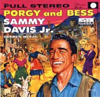 Porgy and Bess (Sammy Davis Jr. and Carmen McRae album) - Image: Sammy Carmen Porgy Bess
