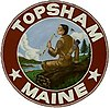 Official seal of Topsham, Maine