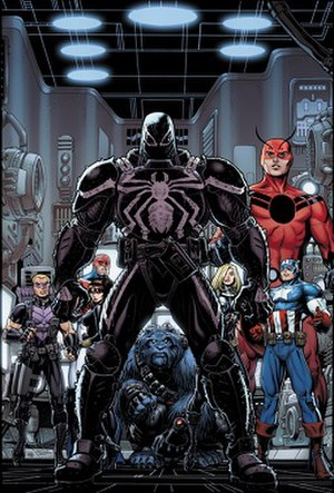 Flash Thompson - Image: Secret Avengers 23cover