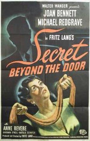 Secret Beyond the Door - Theatrical release poster