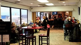 Trenton–Mercer Airport - SkyLounge bar