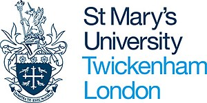 St Mary's University, Twickenham - Crest of St Mary's University, Twickenham
