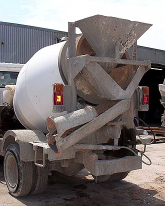Ready-mix concrete - 1.6 cuM. transit mixer