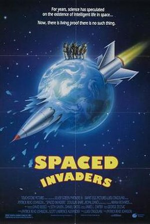 Spaced Invaders - Theatrical release poster