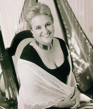 Susan Allen (musician) - Image: Susan Allen, harpist
