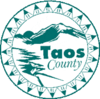 Official seal of Taos County