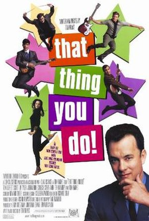 That Thing You Do! - Theatrical release poster