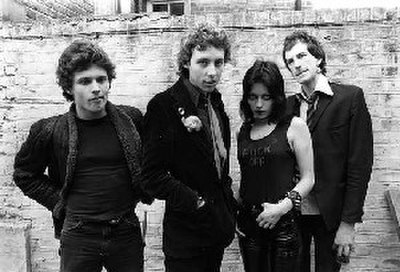 Picture of a band or musician: The Adverts