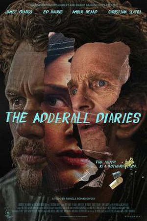 The Adderall Diaries (film) - Theatrical release poster